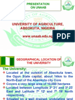 Showcasing African Foremost University