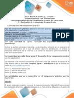 Guía para el desarrollo del componente práctico - Fase 5 - Evaluación