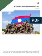 Uma breve história da Republica Democrática Popular do Laos – TraduAgindo