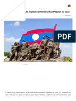 Uma breve história da Republica Democrática Popular do Laos – TraduAgindo