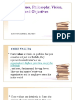 CFLM Values,Philo,Vision,Mission