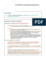 Bate-papo - CNM - Uso da Lei nº 13.979 de 2020 na contratação emergencial de insumos de saúde - Renato Felini e Martin