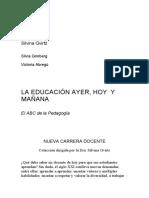 [PD] Libros - La educacion ayer hoy y manana