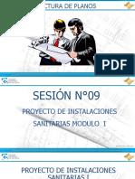 DIAPOSITIVAS - SESION 9  INSTALACIONES SANITARIAS MODULO I