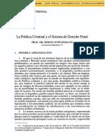 Dialnet-LaPoliticaCriminalYElSistemaDeDerechoPenal-46401