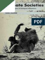 Primate societies - Hans Kummer