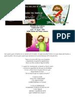 27  ORACION EN FAMILIA CAMINANDO CON... Lunes XVIII SEMANA TO 03-08-2020