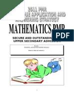 Matematik Pmr - English