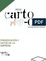 Plan de empresa Guillermo Martínez Fernández (CARTO-ON)