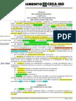 REGIMENTO INTERNO DO CREA-MG