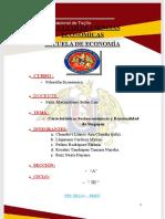 CARACTERÍSTICAS SOCIOEONÓMICAS DEL ÉXITO DE SINGAPUR (1)