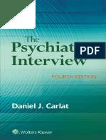 The Psychiatric Interview - Daniel Carlat