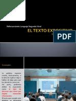 Reforzamiento Segundo Nivel 2020 texto expositivo.ppt