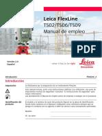 Leica TS02 TS06 TS09 FLEXLINE ESP_V2.0