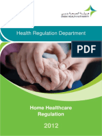 Home Health Care Regulation