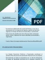 ESTADOS FINANCIEROS PROYECTADOS DIAPOS