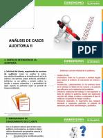 análisis de casos auditoría