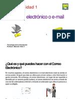 GUIA 1 - TIC - 2° NIVEL - La importancia del correo electrónico