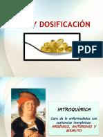 DOSIS Y DOSIFICACIÓN LAURA