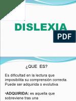 DISLEXIA sintomas