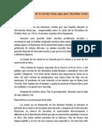 Contexto histórico de la novela COMO AGUA