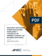 Documento metodologico ENVIGMU