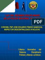 EXPOSICION LEY N° 30714 LRDPNP-2019-04ABR2019
