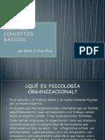--CONCEPTOS BASICOS PSICOLOGIA ORGANIZACIONAL
