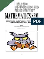 Matematik Spm - English