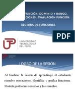 CG-Sem12-TIPOS DE FUNCIÓN.EVALUACIÓN Y ALGEBRA DE FUNCIONES
