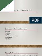 9. Hardened concrete