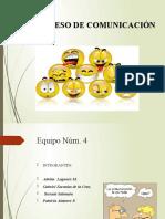 PRESENTACION ppt PROCESO DE COMUNICACIÓN
