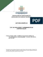 Chipana La Biblia en los procesos andinos CTX 126