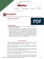 Justiça ou Judiciário_ - Gramatigalhas.pdf