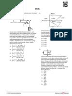 Pembahasan Fisika SIMAK UI 2018 (A)