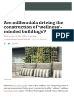 Are millennials driving the construction of 'wellness'-minded buildings? - Curbed