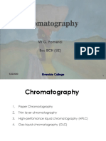 Analytical techniques-TLC, HPLC, GLC