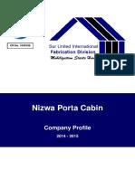 CR No Nizwa Porta Cabin. Company Profile