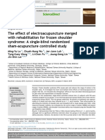 The effect of electroacupuncture merged with rehabilitation for frozen shoulder syndrome
