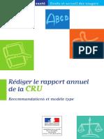 Rapport annuel 2018 CRU
