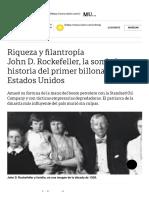 John D. Rockefeller, la sombría historia del prime