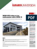 INIFAR-UCR trabaja en tres medicamentos contra COV