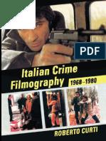 Italian Crime Filmography 1968-1980