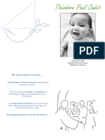 THEO BAPTISM BOOKLET