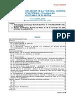 Texto consolidado Ordenanza Tenencia-Control y Proteccion Animales