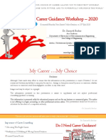 Career Guidance after Xth 2020 by Dr. Samarth Borkar