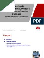 Material for BTS3900&BTS5900 Node Performance Counter Changes (V100R015C10SPC080 vs V100R015C10)