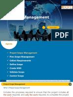 PMP-05-SCOPE MANAGEMENT