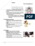 Test Ortopédicos