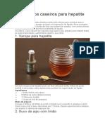 ajuda para combater a epatite